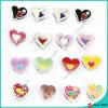 Encantos del resbalador del corazón del esmalte para los encantos de la pulsera del amante (SC16040934)