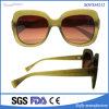 Последние моды пластмассовых женщин солнечные очки для поощрения