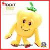 Jouet jaune de légumes de peluche de poivre personnalisé par usine