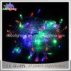 Luz feericamente da corda do diodo emissor de luz do PVC do uso ao ar livre da luz 230V da decoração do feriado para luzes impermeáveis da corda do diodo emissor de luz da decoração IP44 5mm do Natal