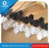 Guipure Sequinse Cable química tejido de encaje de África
