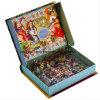 Подгоняйте коробку подарка печатание головоломки малышей упаковывая сформированную книгой