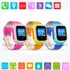 Relógio de venda quente do perseguidor do GPS de 2017 miúdos com a tela Y5 do SOS e de toque