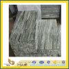 Tuile grise importée de mur de granit de Nero Santiago (YQA-GT1005)