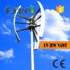 Haute efficacité verticale 3kw éolienne pour utilisation sur le toit