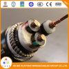 中国の製造者3のコア電力線のための電源コード12/20のKvのXLPE Swa PVC Mv