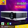 1080P小型デジタルのビデオLED LCDプロジェクター