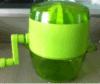 Juicer manuale di plastica di nuovo disegno