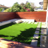 Swimming Pool Landscaping Design를 위한 28mm Height 18900 Density Lad10 Skid Proof Leisure Artificial Grass