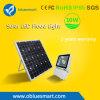 Lámpara de calle al aire libre solar al aire libre del alto brillo IP65 LED