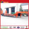 4 мост Lowbed полу грузового прицепа 80т с пружиной с плавным регулированием скорости