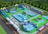 De opblaasbare Planning van het Park van het Water vanaf het Daadwerkelijke Gebied van Cliënten