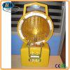 번쩍이는 안전 도로 빛, 태양 LED 경고 램프