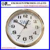 Часы стены изготовленный на заказ печатание логоса круглые пластичные (Item23)