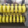Papel de pergamino vegetal coloreado para el tubo de papel químico del POY DTY del tubo de la fibra