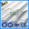 Folha ondulada do policarbonato de Aoci UV-PC sobre a transmissão clara de 85%