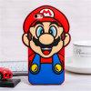 Caja del teléfono del silicón de la pista de la piña de Mario de las bragas de la honda del PUNTO para el iPhone 7 7plus (XSR-030)