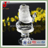 De Tegenhanger van de Kerstman van het Glas van het kristal (jd-CG-100)