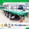 3 di BPW degli assi di programma di utilità 40FT del contenitore della base rimorchio del camion del rimorchio semi/pianamente del contenitore della piattaforma semi/contenitore di carico semi Trailere