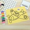 Het in het groot Schilderen van het Zand van de Kunst Handcraft van Kinderen DIY Kleurrijke