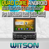 Witson S160 Car DVD GPS Player per Mitsubishi L200 (2010-2012) con Rk3188 Quad Core HD 1024X600 Screen 16GB Flash 1080P WiFi 3G Front DVR DVB-T Mirror (W2-M094)