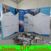 Système d'affichage modulaire de mur d'Individu-Construction de reconfiguration portative avec les panneaux arrières de forces de défense principale