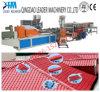 Mattonelle spagnole di plastica di UPVC/PVC che coprono la riga dell'espulsione dello strato