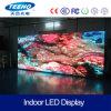 Pantalla de visualización de interior de LED de la alta calidad P3.91 para la etapa