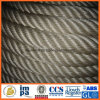 ABS genehmigte Seil die sechs Strang-chemische Faser-des Polypropylen-(pp.)