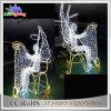 Lumière d'intérieur de cornière de motif de la décoration 3D de Noël de mail