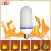As lâmpadas de LED E27/E26/B22 12W efeito chama LED lâmpadas LED Lâmpadas de Incêndio