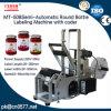 Máquina de etiquetado de la botella redonda con el codificador para la salsa del atasco (MT-50B)