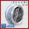 Задерживающий клапан качания вафли плиты Wcb испытания Didtek 100% двойной
