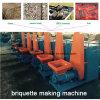 De houten Briket die van de Schil van de Koffie van de Rijst van het Zaagsel Machine maken