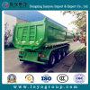 De 4 essieux de vidage mémoire de tombereau camion de remorque semi pour l'exportation