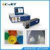 Máquina Desktop da marcação do laser da fibra da pequena escala para a câmara de ar do ferro (EC-laser)