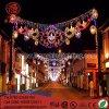 Decoração ao ar livre do diodo emissor de luz Diwali através da luz do motivo para a luz da decoração da rua