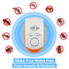 5 in 1 Repeller ultrasonico elettromagnetico del parassita di alta qualità