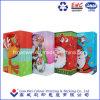 광택 있는 박판으로 만들어진 아트지 즐거운 성탄 쇼핑 선물 종이 봉지