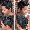 Short 28 parti della celebrità del Virgin dei capelli umani del tessuto di estensione per le donne di colore
