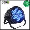 Высокая мощность 72X 3W Водонепроницаемый светодиодный PAR лампа/ IP65 для использования вне помещений этап LED PAR освещения