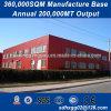 Installation rapide à l'excellent système de fabrication de l'entrepôt