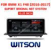 Auto DVD 10.25 van het Scherm van BMW van Witson de Grote  voor BMW X1 F48 (2016-2017)