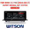 Grande ecrã BMW Witson aluguer de DVD 10,25 para a BMW X1 F48 (2016-2017)