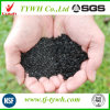 Задавленный активированный уголь угля