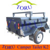 Toruの熱い販売のキャンピングカートレーラーのキャンプのトレーラー(モデルNO: K2)