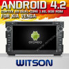 KIA Venga (W2-A7518)를 위한 Witson Android 4.2 System Car DVD