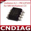 새로운 2014년 Vediamo 4.2 + MB Multiplexer C3 Tools Electric OBD2 Auto Diagnostic Tool를 위한 Pic12f509