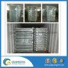 Jaula del acoplamiento de alambre o estante galvanizada del almacenaje