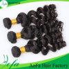 Волосы 100% девственницы Remy людские бразильские естественные черные